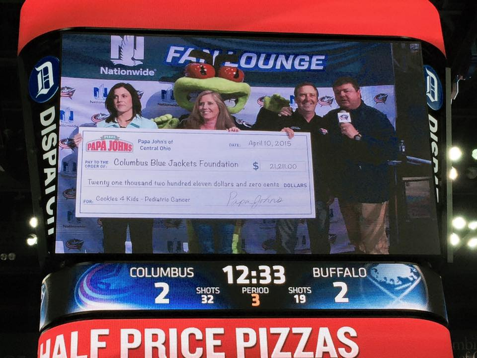 Columbus Blue Jackets Foundation Receives over $21,000 Donation ...