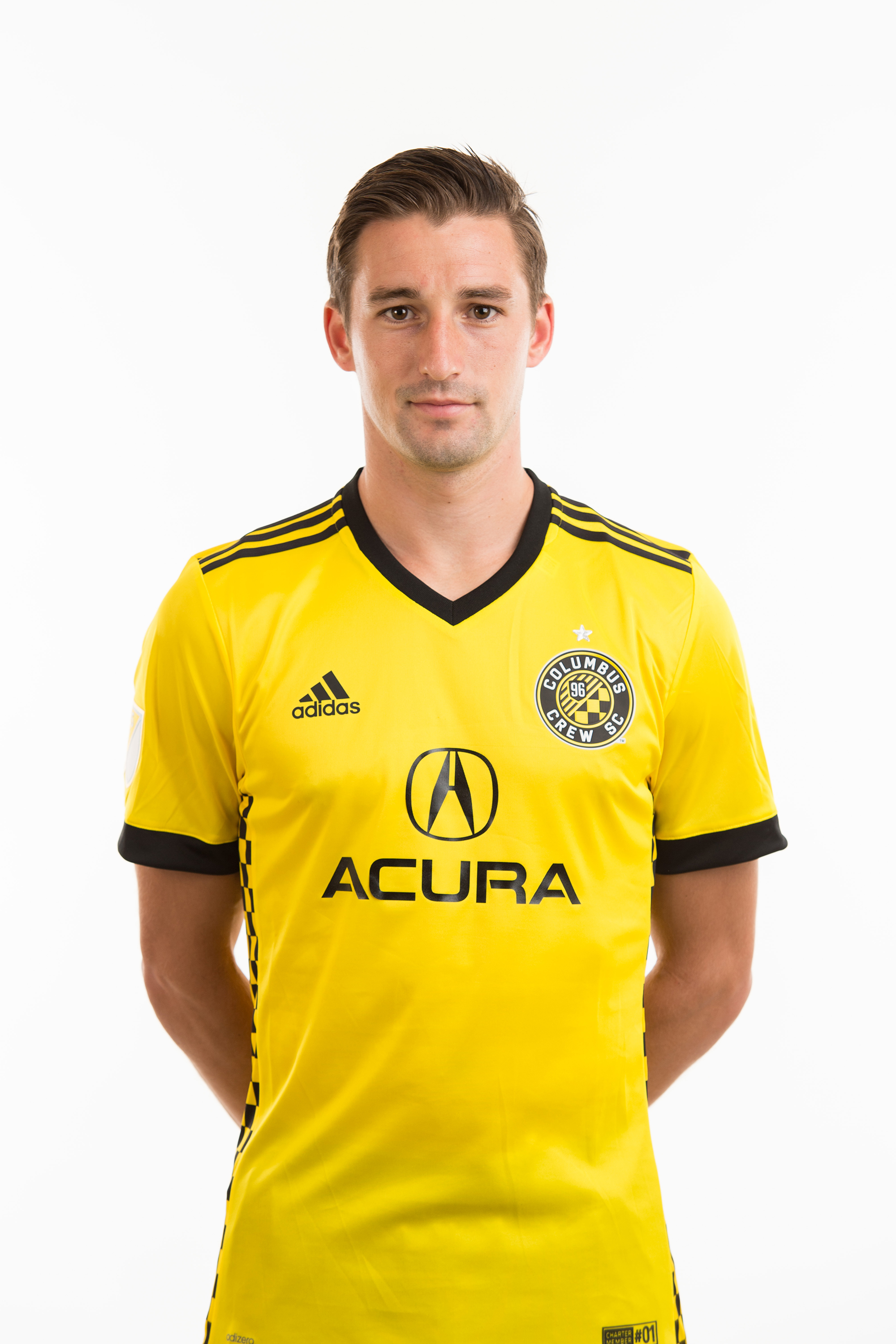 Ethan Finlay is currently in his sixth season with Columbus Crew SC. A midfielder, Finlay was selected 10th overall in the 2012 MLS SuperDraft by the Black & Gold. Prior to joining Crew SC, the Marshfield, Wisconsin native played soccer for Creighton University, where he led the Bluejays to their first College Cup since 2002 his senior year. At the international level, Finlay has earned three caps with the U.S. Men's National Team. A 2015 Eastern Conference Champion, Finlay is also one of only six players to have recorded at least 30 goals and 30 assists for Crew SC in regular-season action.